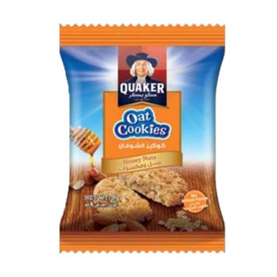 Picture of Quaker Oats Cookies Honey & Nuts    ( 9 GM * 8 Pouch   )