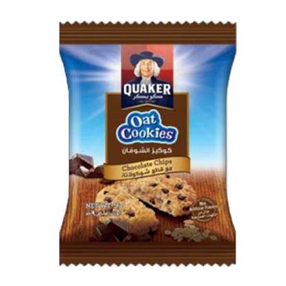 Picture of Quaker Oats Cookies Chocolate    ( 9 GM * 8 Pouch   )