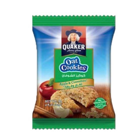 Picture of Quaker Oats Cookies Apple Cinnamon     ( 9 GM * 8 Pouch   )