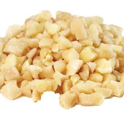 Picture of Al Monds Blancheded Diced  12/8 -per kg