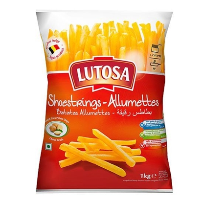 Picture of Lutosa French Fries 10*10  (  1 KG * 4 Pouch )