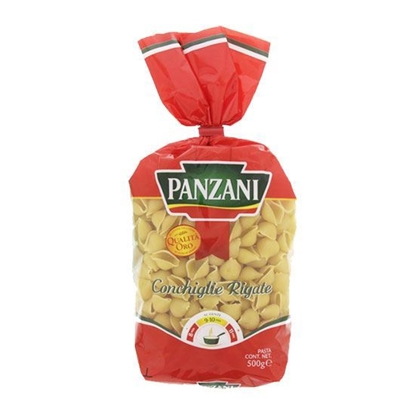 Picture of Panzani Concealer Macaroni with Tomato & Spinch  ( 500 GM * 12 Pouch )