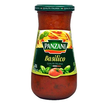 Picture of Panzani Macaroni SauceTOMATO with  Basil  (400 GM * 12 Jar )