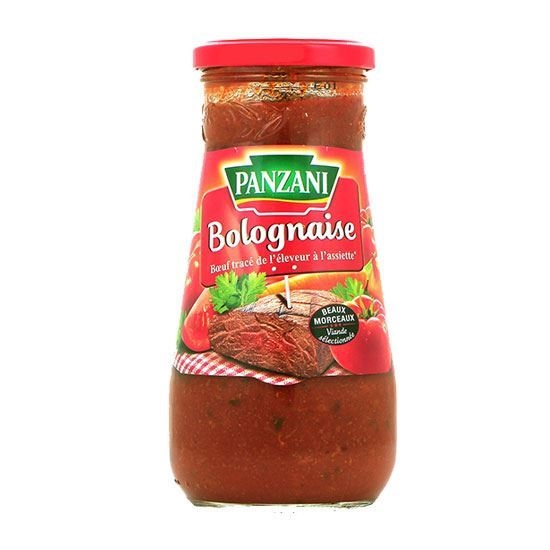 Picture of Panzani Macroni Sauce Bolgn - (400 GM * 12 Jar )