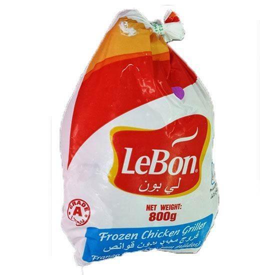 صورة دجاج مجمد ليبون ( 800 جم * 10 حبة )