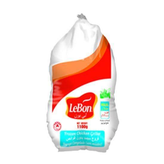 صورة ( دجاج كامل مجمد ليبون ( 1100 جم * 10 حبة