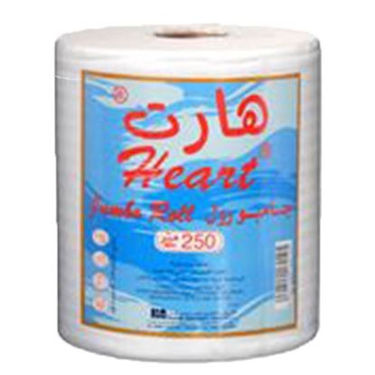 Picture of Heart Jumbo Roll 250Meter   ( 1 Roll * 6 Piece )