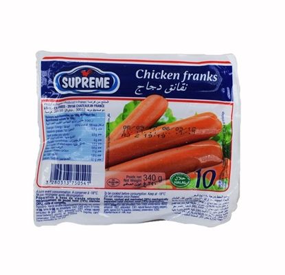 Picture of Doux  Supreme Chicken Franks       (  340 GM * 24 Piece )