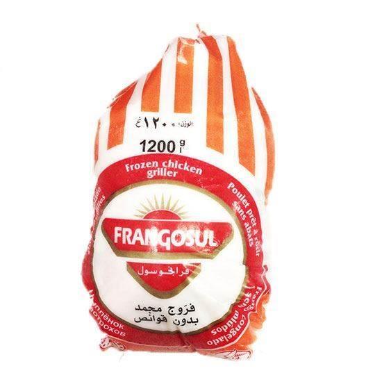 صورة ( دجاج كامل مجمد فرانجسول (1200 جم * 10 حبة