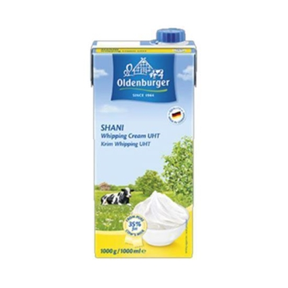 Picture of OldenBurger/Milram Whipping Cream for Sweet ( 1 Liter * 12 Tetra Pack )