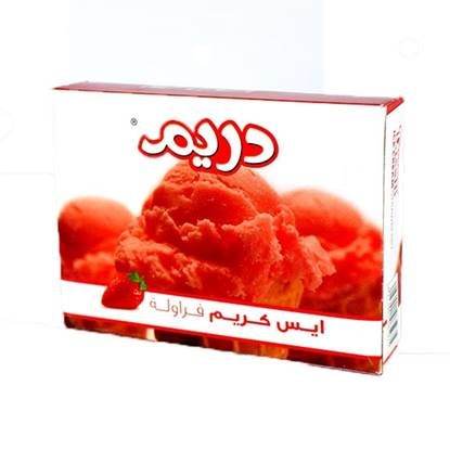 Picture of Dreem Ice Cream Strawberry  ( 80 GM * 144 Box )