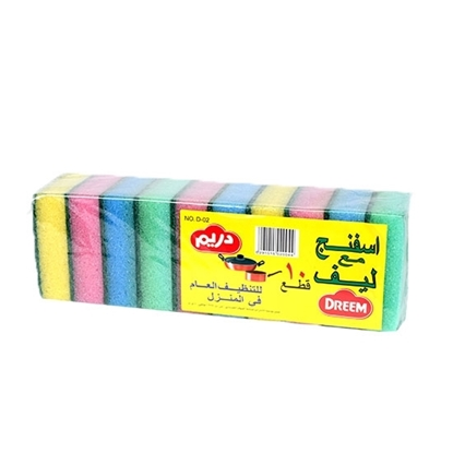 Picture of Dream Color Combo Sponge No.D-02  ( 10 Pieces * 60 Packet )
