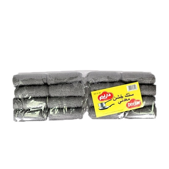Picture of Dream Steel Wool Jumbo Rolls Pack No.D-08 ( 16 Pieces * 24 Roll )