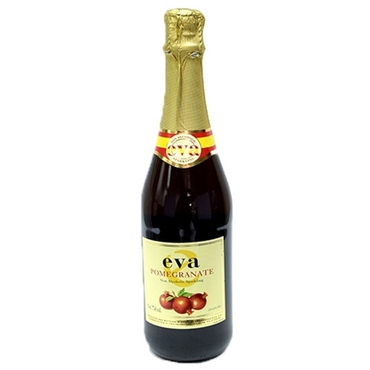 Picture of Eva Sparkling Pomegranate Juice ( 750 ML * 12 Bottle )