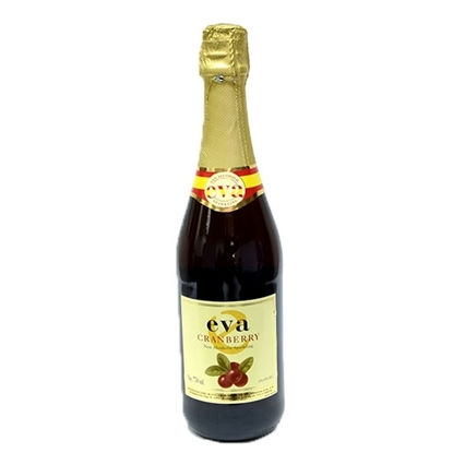 Picture of Eva Sparkling Cranberry Juice ( 750 ML * 12 Bottle )