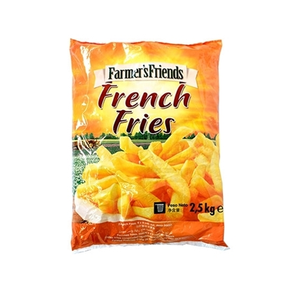 Picture of (  Farmer's Friend Frozen French Fries  6*6 ( 2.500  KG * 4 Pouch )