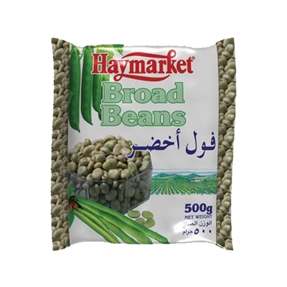 Picture of Hay Market Broad Bean ( 500 GM *  24 Pouch )