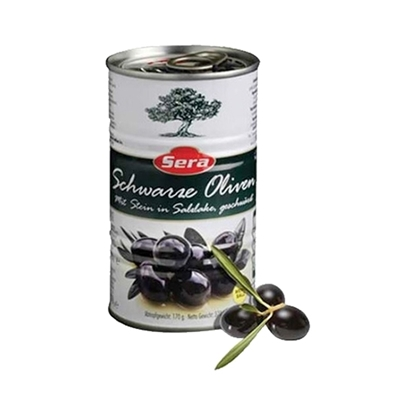 Picture of Sera Black Olives    ( 370 GM * 24 Cans )