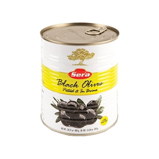 Picture of Sera Black Olives without Sowing of Cans ( 360 GM * 24 Can )