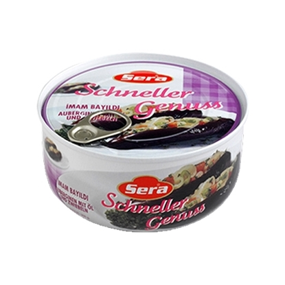 Picture of Sera Stuffed Eggplants with Vegetables Imam        ( 300 GM * 12 Cans )