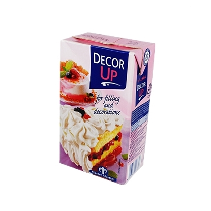 Picture of Décor up Non Dairy Cream -     (   1 Liter  * 1  Can  )