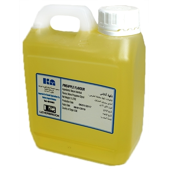 Picture of Liverbrook Pineapple Essence ( 1 Liter * 1 Gallon )