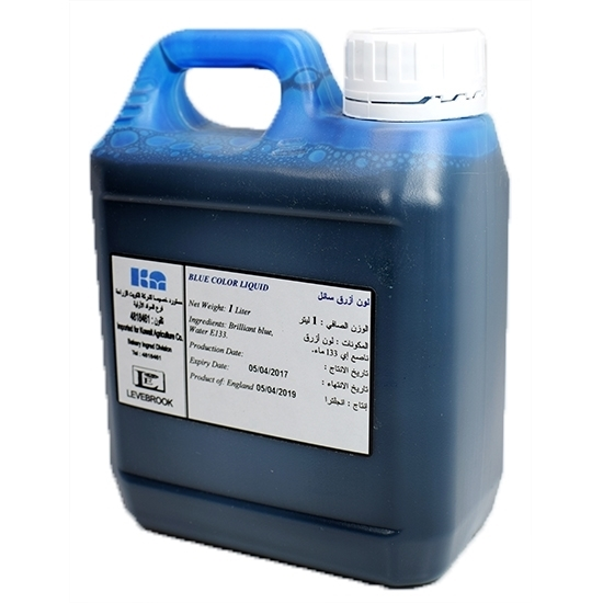Picture of Liverbrook Royal Blue Color Liquid( 1 Liter * 1 Gallon )
