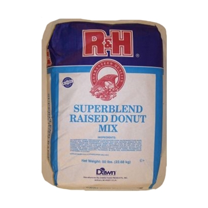 Picture of R&H Super Blend R.Yeast Donut Mix (  22.680 KG * 1 Pouch )
