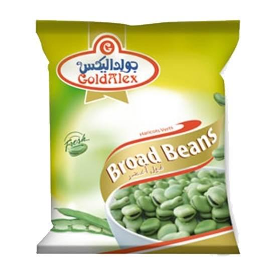 Picture of Goldalex Frozen Broad Beans ( 400 GM *  20 Pouch )