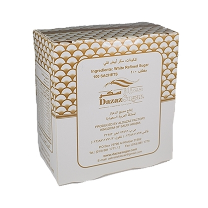 Picture of Dazaz  White Sugar Sachet( 500 GM * 24 Box )