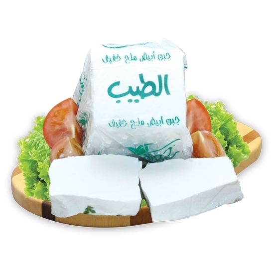 Picture of Al Tyeb White Cheese Soft Low Salt   ( 13 kg )