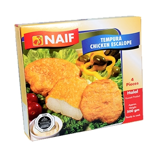 صورة إسكالوب دجاج مجمد نايف بالتمبورا  ( 500 جم * 1باكيت )