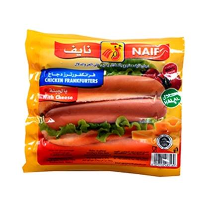Picture of Naif Cheese Chicken Frankfurters  (160 GM * 1 Pouch )