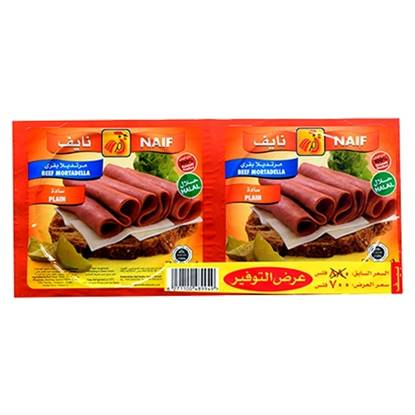 Picture of Naif Beef Mortadella  (150 GM * 2 Pouch )