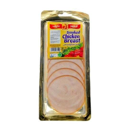 Picture of Naif Smoked Chicken Breast Slices  (160 GM * 1 Pouch )