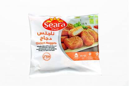 Picture of Seara Frozen Chicken Breaded Snack( Nuggets )( 300 GM * 40 Pieces )