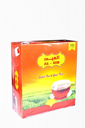 الصورة: AL Eid Red Label Tea Pouch( 36 Box * 100 * 2 GM )