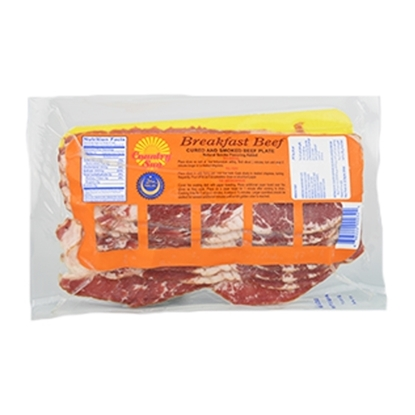 Picture of Country Sun Beef Breakfast Slice (Bacon) 12 pcs * 0.340 G