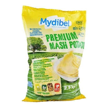 Picture of Mydibel Frozen French Fries Mashed Potato Pellets  -18M (108)- ( 4 Pieces * 2500 GM )