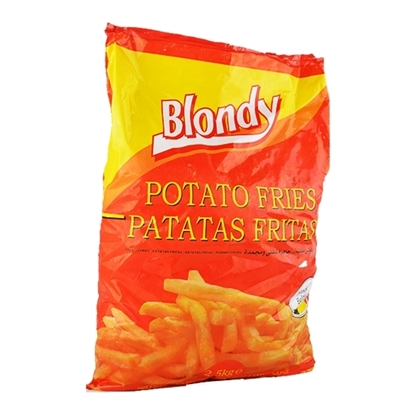 Picture of Mydibel Frozen French Fries Blondy- 9x9 -C - 18M FUN(108) - ( 4 Pieces * 2500 GM )