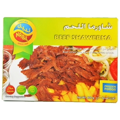 Picture of Nabil Beef Shawerma ( 6 Pieces * 400  GM )