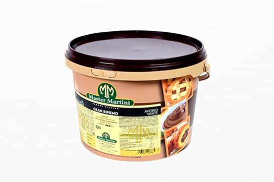 صورة ( حشــوة شوكولاتة بيضاء جاهزة -  مارتيني  (5.000 كجم * 1 سطل