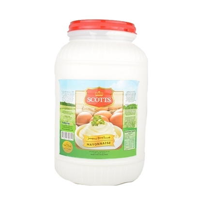 Picture of Scotts Mayonnaise Regular HDPE, Gallon   ( 4 Pieces *  1 Gallon   )