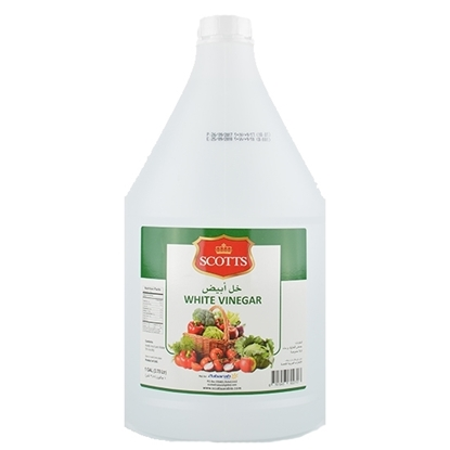 Picture of Scotts White Vinegar HDPE, Gallon   ( 4 Pieces *  1 Gallon   )