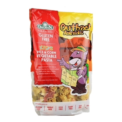 Picture of Orgran Outback Animals Vegetable Pasta Shapes ( 7 Pieces *  250 GM   )