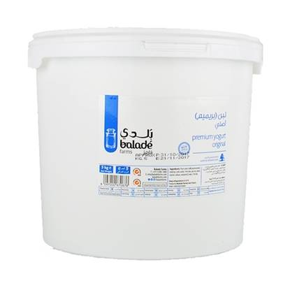 Picture of Balade Fresh Premium Natural Yoghurt  ( 1 Piece *  5 KG )