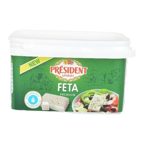 Picture of President Cheese Feta  ( 12 Pieces *  500 GM )