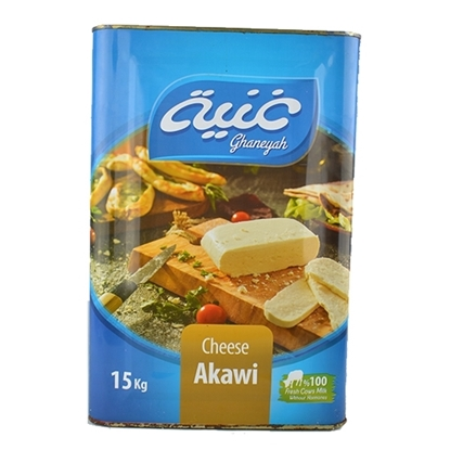 Picture of Khair Elgead Cheese Akawi Ghaniya Feter  ( 1 Piece *  15 KG )
