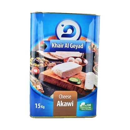 Picture of Khair AL Geyad Cheese Akawi  ( 1 Piece *  15 KG )