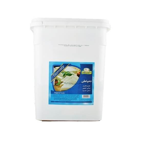 صورة جبنة جرين فيلدز دمياطى أبيض  ( 12 كجم * 1 حبة )